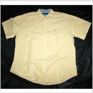 Tommy Hilfiger Short Sleeve Button Down Shirt